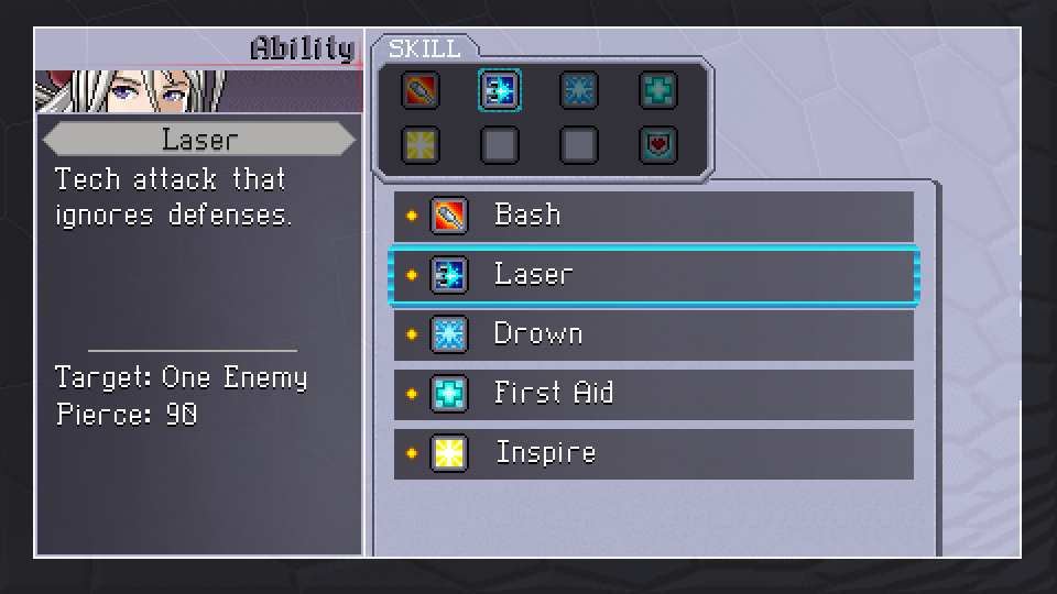 CSH Ability Menu